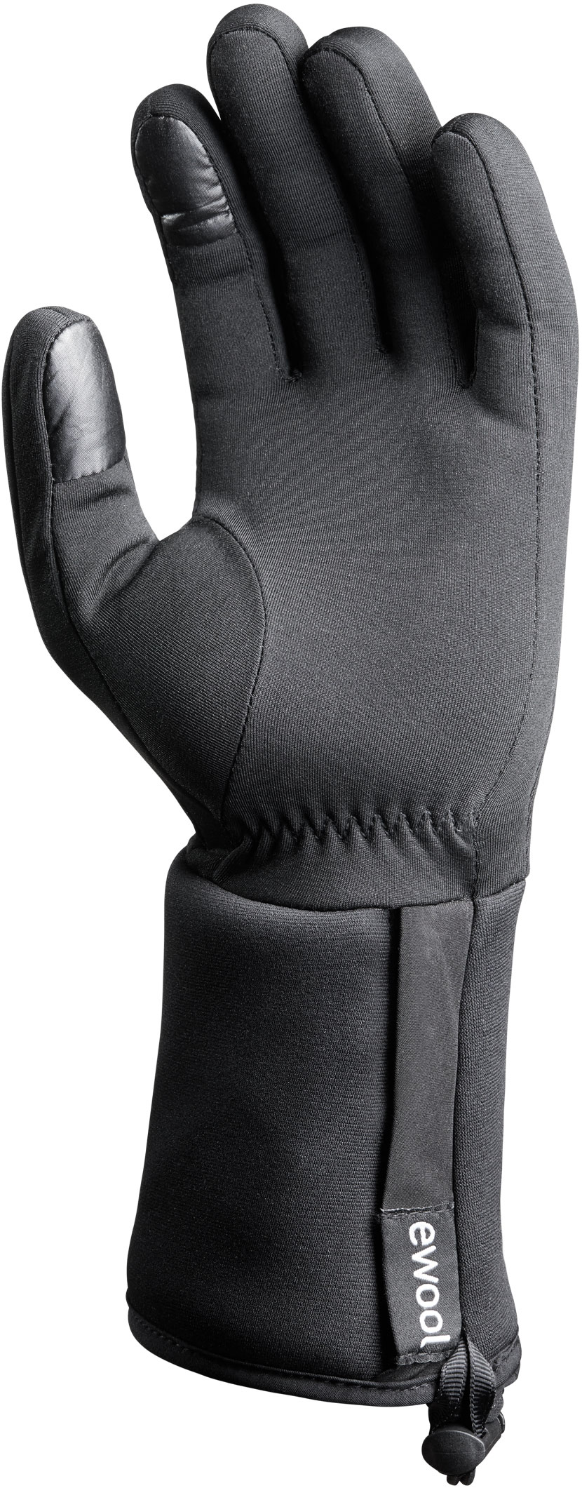 ewool® heated glove liner featuring touchscreen compatible fingers